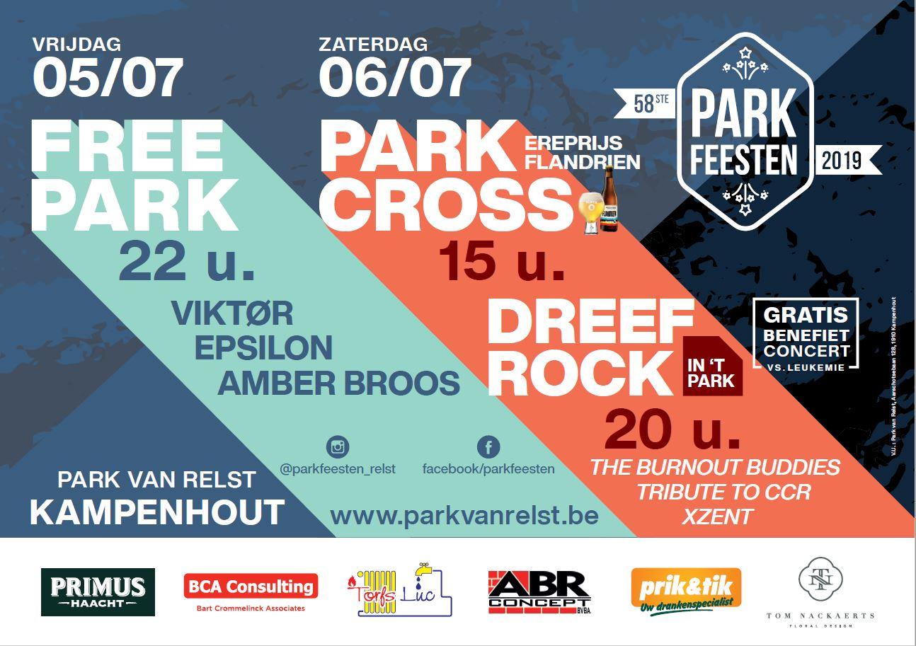 Parkfeesten 2019 - Affiche