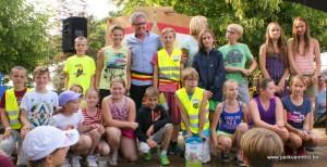 Parkfeesten 2015 - Kinderburgemeester